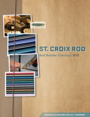 View the 2013 St. Croix Catalog - Merrick Tackle