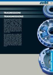 TRASMISSIONI TRANSMISSIONS - Central Ricambi