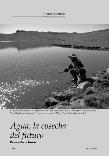 Agua, la cosecha del futuro - Desco