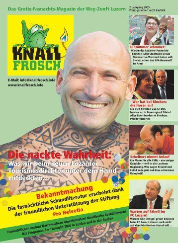 KnallFrosch 2005 - Die nackte Wahrheit: