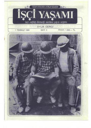 İşçi Yaşamı, Sayı 3