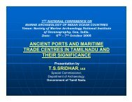 ancient ports and maritime trade centres in tamilnadu and their ...