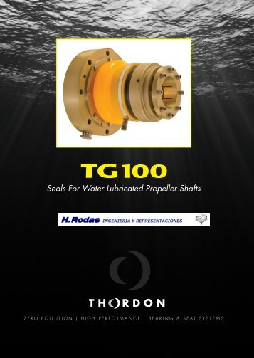 Seals For Water Lubricated Propeller Shafts