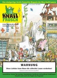 KnallFrosch 2004 - WARNUNG
