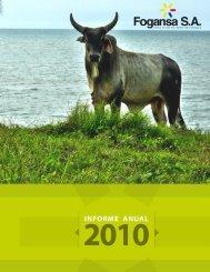Informe Gestión 2010 - fogansa