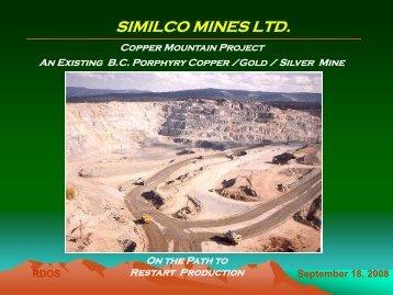 Copper Mountain Mining - Rdosmaps.bc.ca