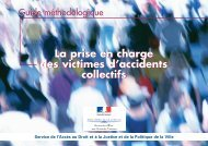 Consultez le guide méthodologique - Ministère de la Justice