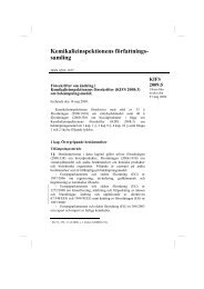 KIFS 2009:5 - Kemikalieinspektionen