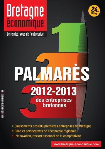 des entreprises bretonnes - Bretagne Economique