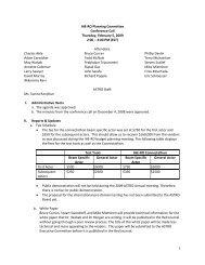 Workforce Committee - IHE Wiki