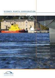 Environment Report 2003 - Sydney Ports