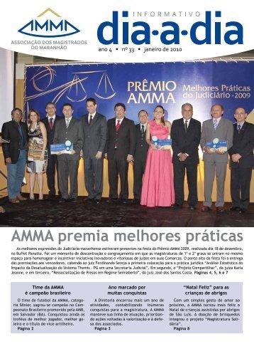 AMMA premia melhores práticas - Associação dos Magistrados do ...