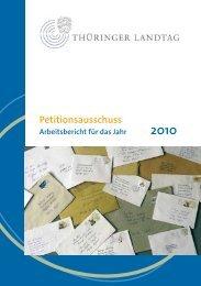 Petitionsausschuss - Thüringer Landtag