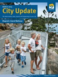 march 2013 - Townsville City Council - Queensland Government