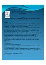 Seminario Jorge Castro 10-11 B