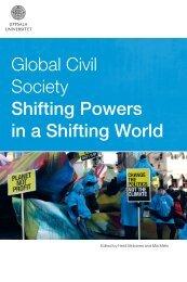 Global Civil Society Shifting Powers in a Shifting World - CSD Uppsala
