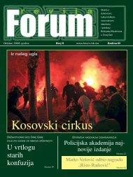 Ko sov ski cir kus - Forumbosnjaka.com