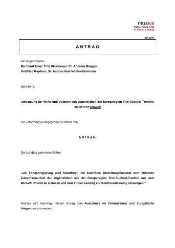 Antrag:Zukunftsmanifest der Jugend: Umwelt - Liste Fritz