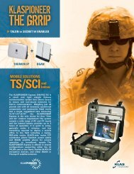 TALON or SECNET 54 ENABLED THURAYA IP BGAN