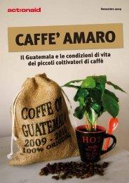 Il Guatemala e le condizioni di vita dei piccoli coltivatori ... - ActionAid