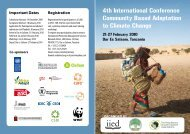 4th International Conference Community Based Adaptation to ...