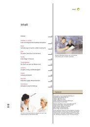 Inhalt - Stier Communications AG - Wirksame und nachhaltige ...