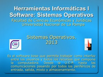 08_Software_Sistemas_Operativos_2013 - Facultad de Ciencias ...