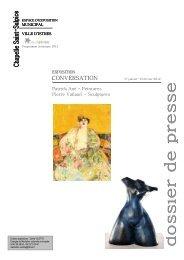 dossier de presse exposition conversation OK + - Istres