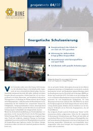 Energetische Schulsanierung