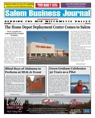 Jan 2010 - Salem Business Journal