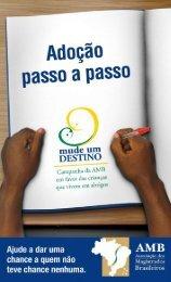 Cartilha - Adoção de crianças e adolescentes do Brasil - AMB