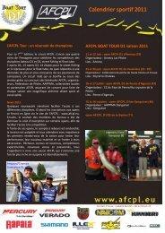 AFCPL Calendrier 2011 Mise à Jour 24 fév.pub - Brunswick Marine