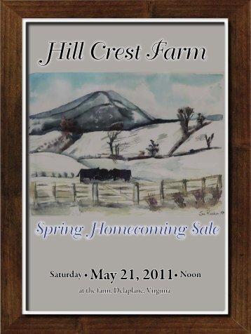 Hill Crest Farm - Angus Journal