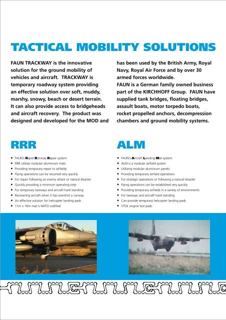 TACTICAL MOBILITY SOLUTIONS - Kirchhoff Gruppe