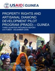 GUINEA - Land Tenure and Property Rights Portal