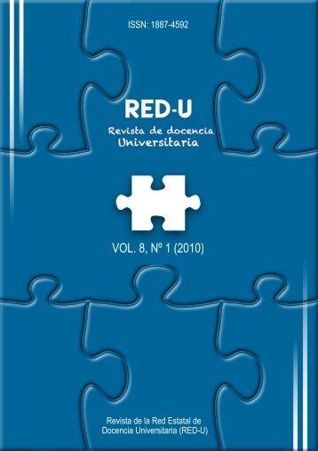 descarga completa del vol. 8 nº 1 - REDU. Revista de Docencia ...