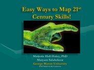 Easy Ways to Map 21st Century Skills - STARTALK