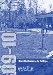 09-10 - Danville Community College - Virginia Community College ...