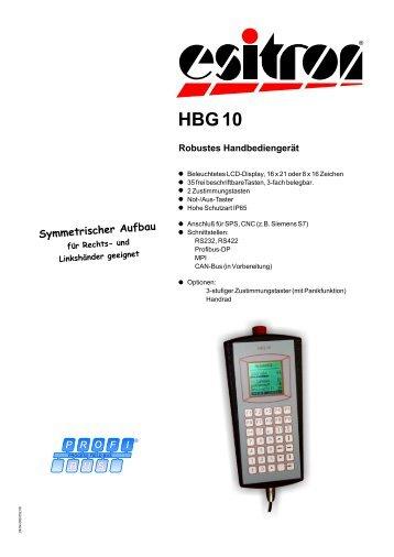 HBG 10 - esitron
