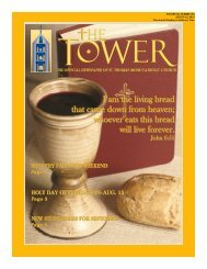 I am the living bread that came down from heaven - St. Thomas ...