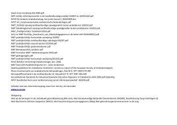 Overzicht artikelen en wetgeving 0912.pdf - NVvE