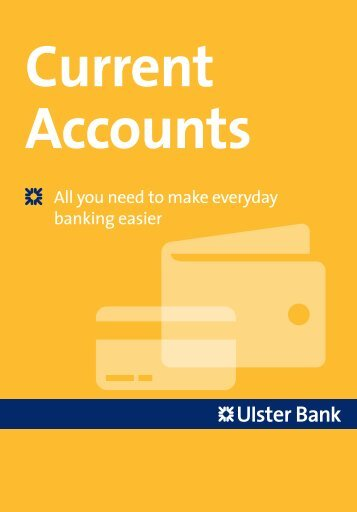 Current Account - Ulster Bank