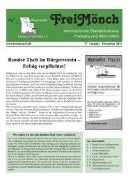 Ausgabe 37 - Bürgerverein Freiberg und Mönchfeld eV