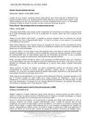 dopage 15 mai - Poisson Bouge