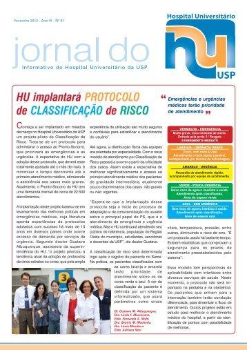 HU 61.pmd - Hospital Universitário – USP