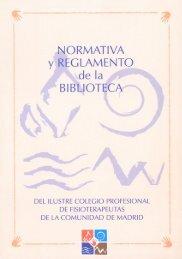Reglamento - Colegio Profesional de Fisioterapeutas de la ...
