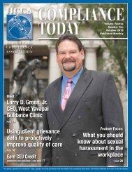 Meet Larry D. Green, Jr., CEO, West Yavapai Guidance Clinic