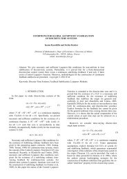 NECESSARY AND SUFFICIENT CONDITIONS FOR - UADPhilEcon