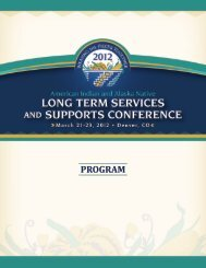 American Indian and Alaska Native Long Term Services - Kauffman ...