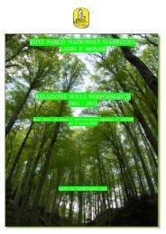 Relazione sulla Performance 2011-2013 - Parco Nazionale d ...